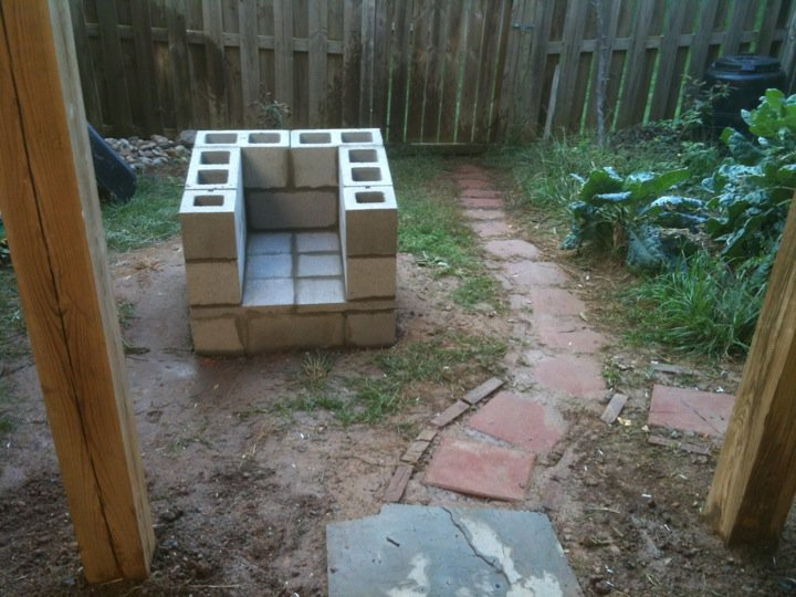 Adventure  Backyard Pizza Oven on the Cheap